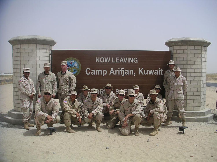 Iraq War Photo. Which I suppose wasn't that bad of an idea. This is one of my favorite pictures that we took as a platoon.