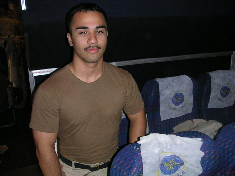 Iraq War Photo. Specialist Porcayo, Victor. ~23. Promoted once. Kuwait, Djibouti. Never fired at. Original member. We haven't heard much from him because he cut off all modes of communication after our return, that's how much he hated the deployment, not necessarily us. As weird and impossible as that sounds, we all understand it. But we do know that he did achieve his dream of becoming an officer with the LAPD. I would always remember him for his undying love for his daughter.