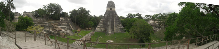 Drive to Guatemala Photo. TIKAL