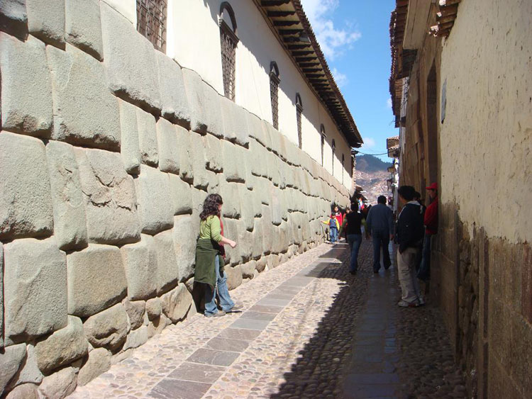 Drive to Peru Photo. You've gotta marvel at just how precise the Incans were with their stonework.