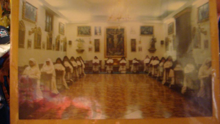 Drive to Peru Photo. Don't know when this picture was taken, but here's a picture of a picture of the nuns of Santa Catalina.