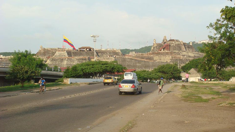 Drive to Colombia Photo. El Castillo del San Felipe. This picture was taken on the same day, right next to the hostal I was staying at. Cartagena is easily the most beautiful city I've ever been to. Main Cities I've been to so far. Europe: Paris (which I think is somewhat overrated, plus if you think about it, the Eiffel tower IS quite ugly), Vienna (now my second favorite city), Frankfurt, Prague. Asia: Seoul, Kuwait City. Africa: Djibouti, Nairobi, Mombassa. Central America: Atitlan, Leon, Tegucigalpa, Panama City. Canada: Montreal (my third favorite city) and Vancouver. United States: Seattle, Chicago, Twin Cities Minneapolis, Los Angeles, San Francisco, Phoenix, Baltimore, Washington DC, New York... I think that's all the main cities I've been to.