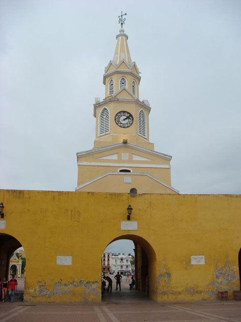 Drive to Colombia Photo. Torre del Reloj. Apparently, it's pretty famous and picturesque, but I had never seen it or heard of it before.